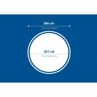 Plocha skákací - Trampolína Marimex Comfort 366 cm