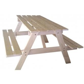 Sestava dětská dřevěná PIKNIK přírodní