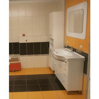 Koupelnová skříňka s umyvadlem Keramia Pro 102x55 cm bílá PRO100DV