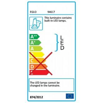 LED osvětlení Eglo Torretta 60 cm kov chrom matný 94617