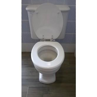 WC prkénko Glacera MDF bílá
