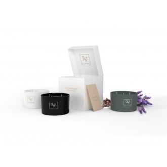 Svíčka Maty's Aromatherapy Grey