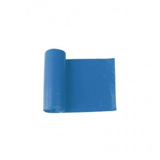 viGO pytle na tříděný odpad, 120 l, 70x105 cm, 40 mc, LDPE, modrá: papír, 8 ks