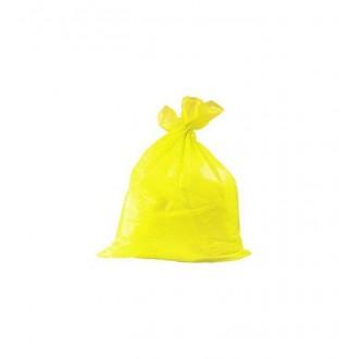 viGo pytle na tříděný odpad, 60 l, 60x80 cm, 30 mc, LDPE, žlutá: plast, 10 ks